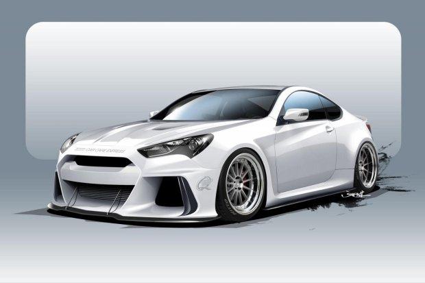Hyundai Solus Genesis Coupe