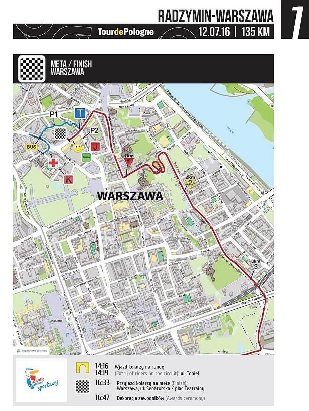 73. Tour de Pologne - utrudnienia w ruchu.