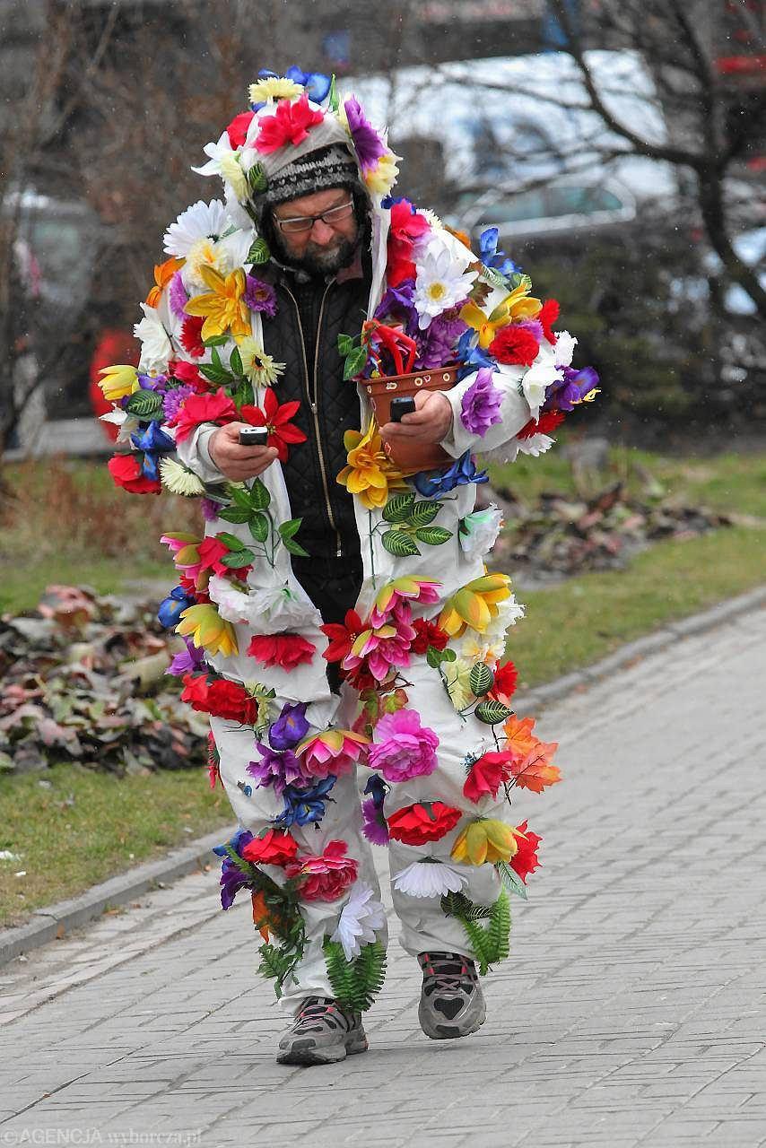 Wspaniały Przestał pić, przebrał się za kwiatek i tańczy w donicy - zdjęcie nr 2 MR18