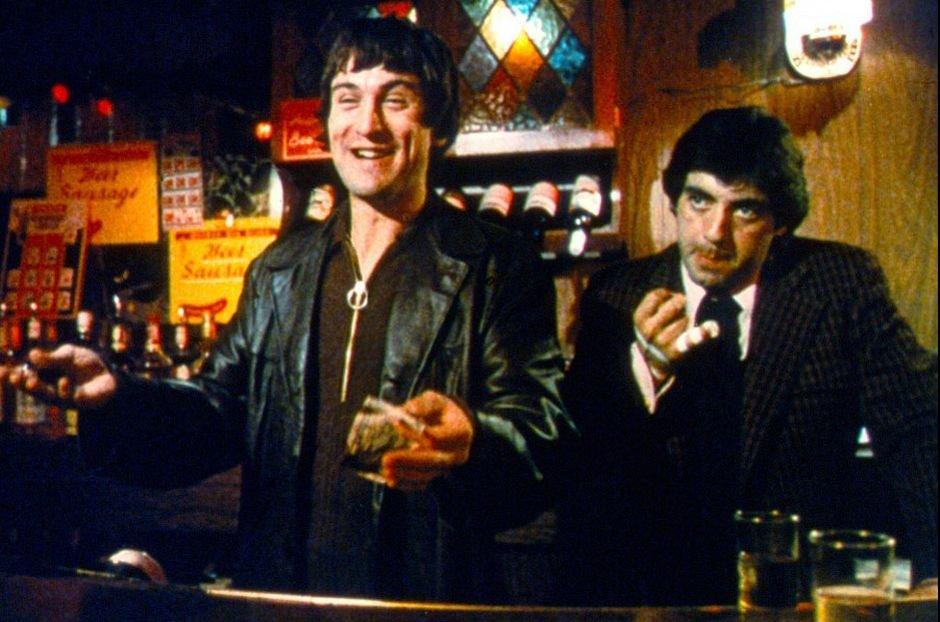 Robert de Niro (po lewej) i David Proval / kadr z filmu