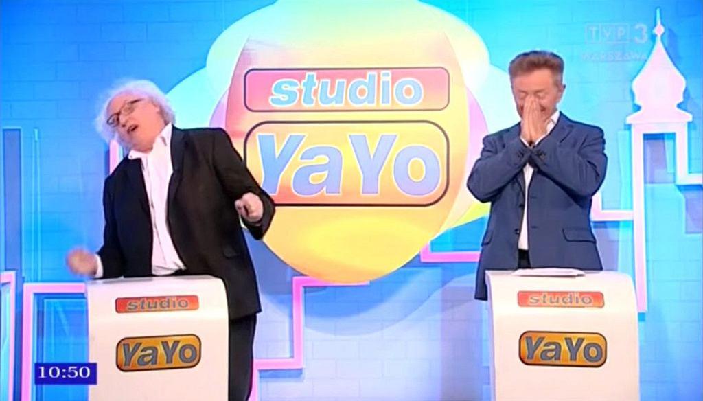 Kadr z programu Studio Yayo