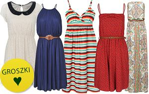Przewiewne sukienki na lato 2012