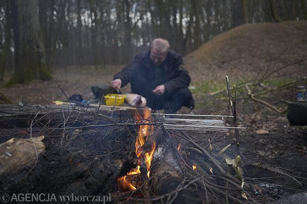 Wroclawscy Preppersi (Fot . Wojciech Nekanda Trepka / Agencja Gazeta)