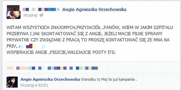 Angie Agneiszka Orzechowska
