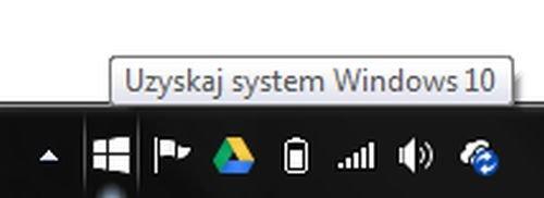 Ikona aktualizacji do Windows 10