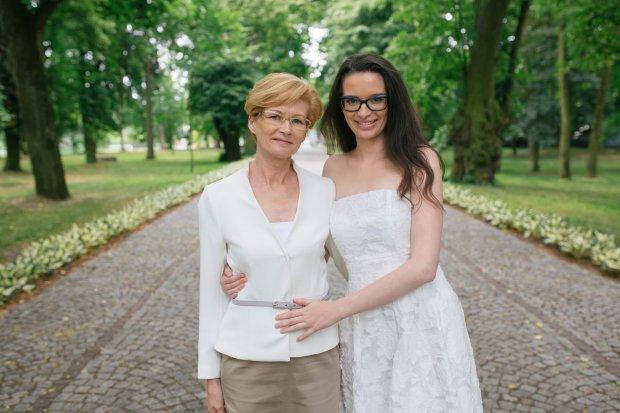 Uczestniczka 'Kto poślubi mojego syna?', Marta z mamą