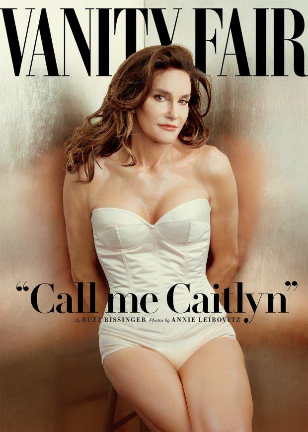 Bruce (Caitlyn) Jenner na okładce