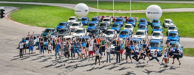 IV Ogólnopolski Zlot Samochodów Subaru Impreza