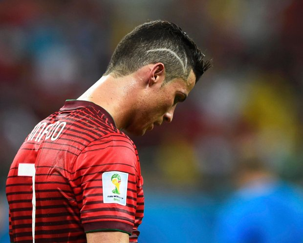 Portugal's Cristiano Ronaldo is pictured after their 2014 World Cup G soccer match against the U.S., which ended with a draw, at the Amazonia arena in Manaus June 22, 2014. REUTERS/Dylan Martinez (BRAZIL  - Tags: SOCCER SPORT WORLD CUP)        TOPCUP