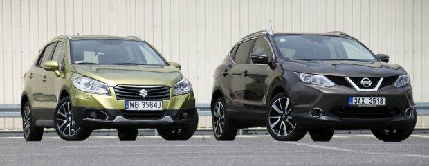 Suzuki SX4 S-Cross vs. Nissan Qashqai - test Moto.pl