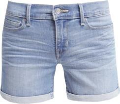 Levis CUFFED SHORT Szorty jeansowe blue refuge