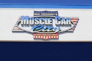 Wizyta w Muscle Car City