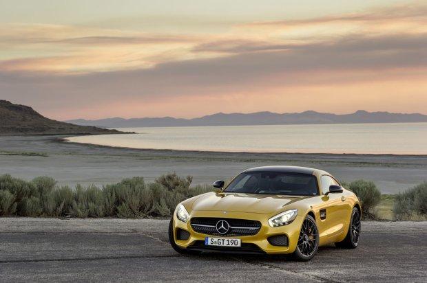 Salon Paryż 2014 | Mercedes AMG GT | 911 ma nowego rywala