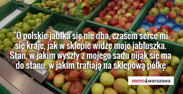 Polskie jabłka z polskiego sadu