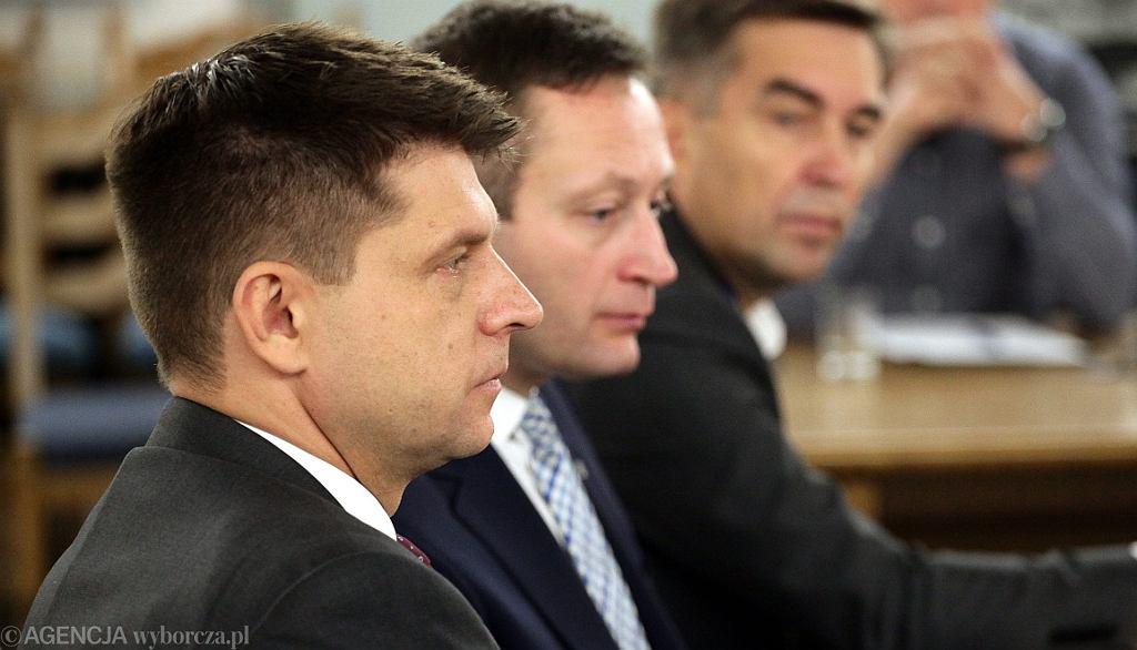 Ryszard Petru i Paweł Rabiej (fot. Sławomir Kamiński/AG)