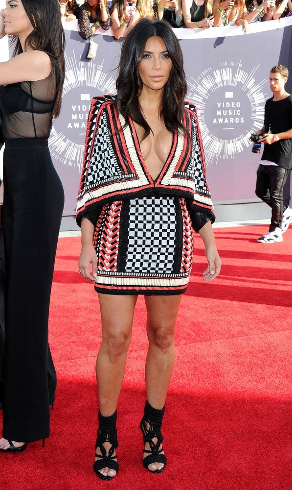 LPictured: Kim Kardashian Mandatory Credit ?? Gilbert Flores/Broadimage 2014 MTV Video Music Awards - Arrivals held at The Forum in Los Angeles  8/24/14, Inglewood, California, United States of America  Broadimage Newswire Los Angeles 1+  (310) 301-1027 New York      1+  (646) 827-9134 sales@broadimage.com http://www.broadimage.com