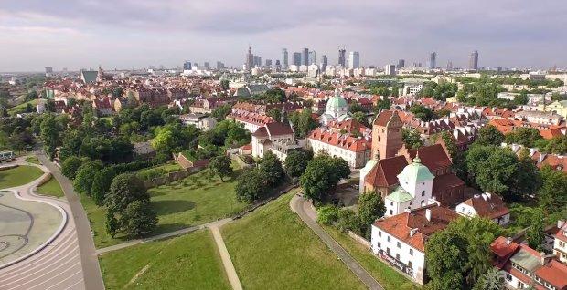 Warsaw 2015 Skymovie - Warszawa z lotu ptaka