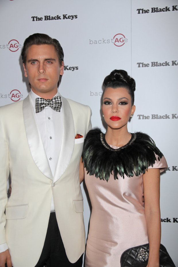 l02/14/2011 - Kourtney Kardashian, Scott Disick - The Black Keys in Concert at Marquee Nightclub in Las Vegas - February 14, 2011 - Backstage - Marquee Nightclub and Dayclub at the Cosmopolitan Las Vegas - Las Vegas, NV, USA - Keywords:  Orientation: Portrait Face Count: 1 - False - Photo Credit: PRN / PR Photos - Contact (1-866-551-7827) - Portrait Face Count: 1