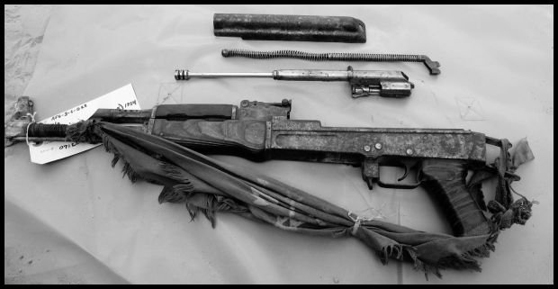 W pełni funkcjonalna broń wyprodukowana rok po śmierci Stalina, pół wieku później wciąż była sprawna. fot. C.J. Chivers