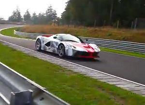 LaFerrari na torze Nurburgring
