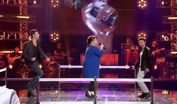 Dawid Litwiński, Sylwester Ruszkowski i Milena Kołodziejczyk, The Voice of Poland
