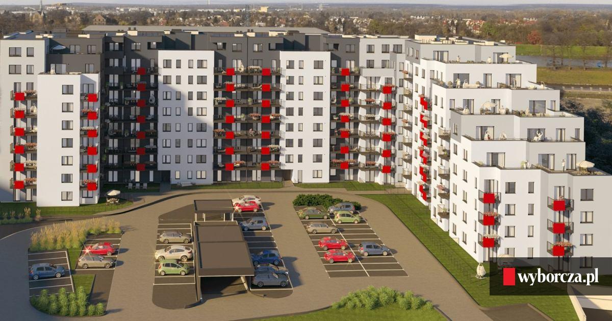 Dodatkowe Taras większy niż mieszkanie. Takie luksusy na Osiedlu nad Odrą ZJ18