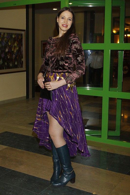 PHOTO: JAROSLAW WOJTALEWICZ/EAST NEWS  2013/01/19 WARSZAWA  ANNA BALON ROK PO FINALE PROGRAMU TVN TOP MODEL 2  N/Z: ANNA BALON