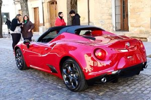 Detroit 2015 | Alfa Romeo 4C Spider | Nareszcie oficjalnie