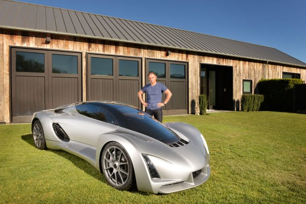 Blade - pierwszy samochód w technice 3D