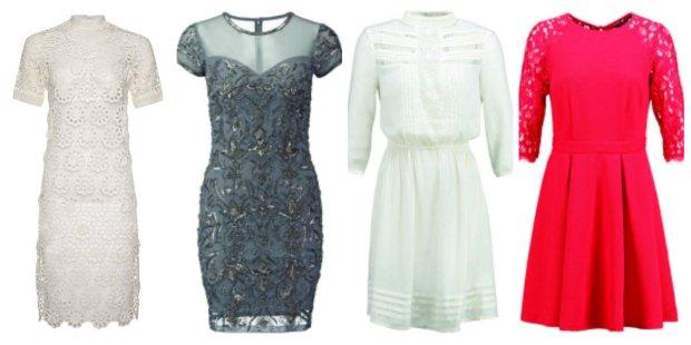 Koronkowe sukienki F&F, Miss Selfridge, Dorothy Perkins, Dorothy Perkins