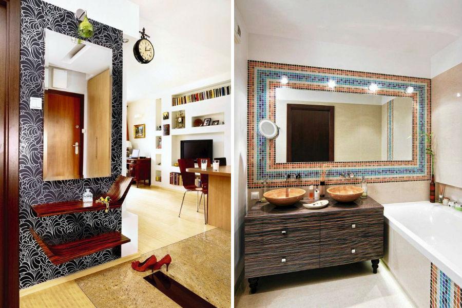 Jakie lustro wybrać do przedpokoju i łazienki?