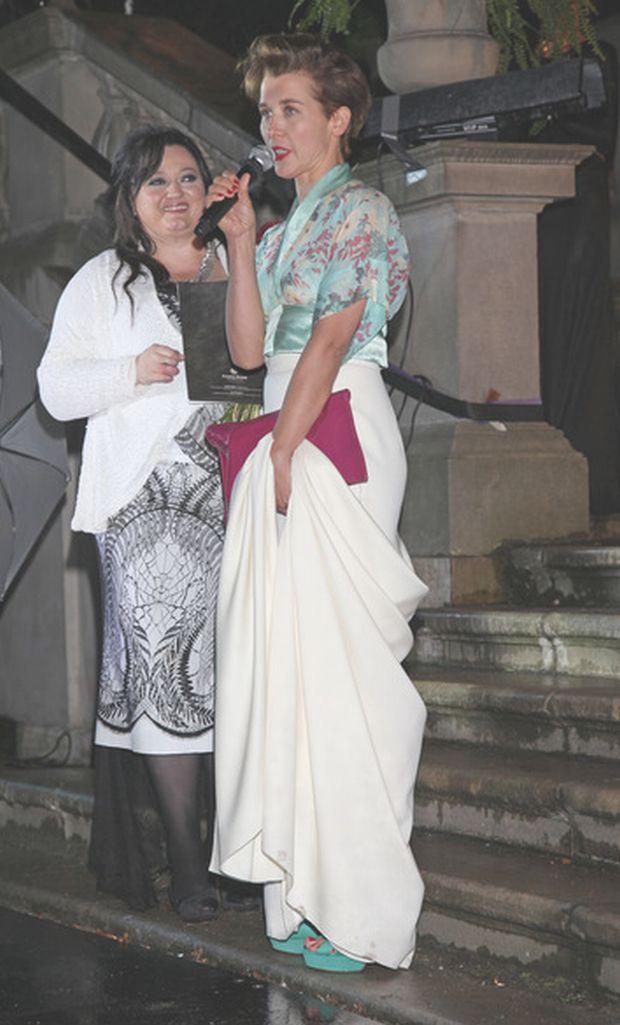 Pokaz Gosi Baczynskiej z okazji 15-lecia pracy, Krolikarnia, 13.08.2012, fot. WBF