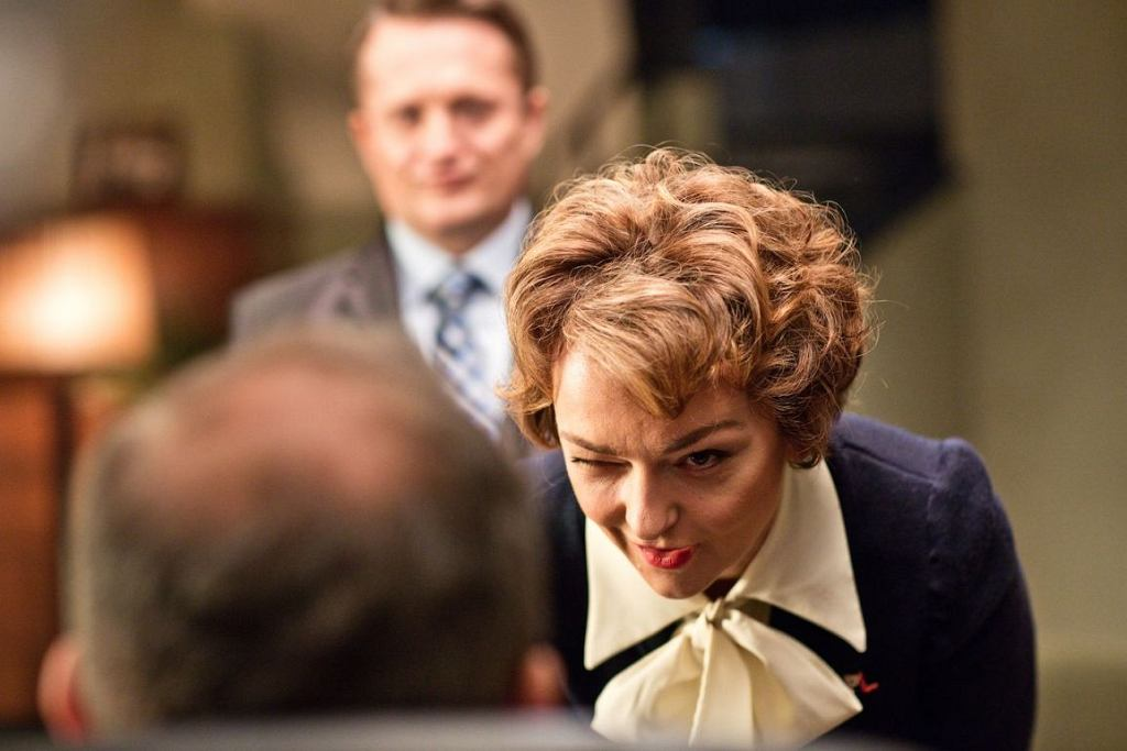 Pani Basia, sekretarka prezesa w serialu ''Ucho prezesa'' (fot. materiały prasowe Showmaxa)