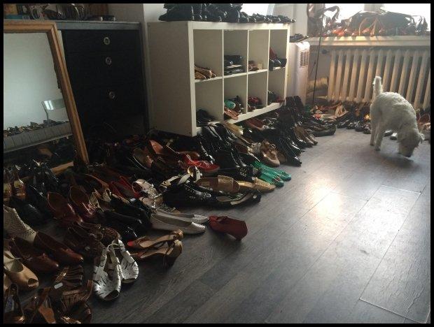 Buty, buty, buty... buty wszędzie (Fot. Natalia Sosin)