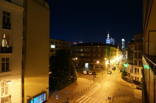 Widok z okna Marysi Sadowskiej na Powiślu