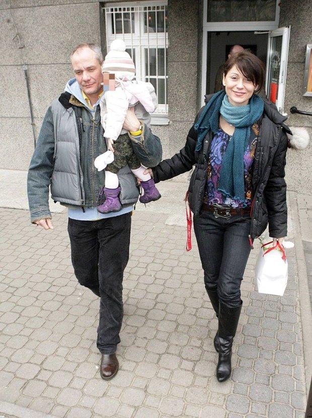 Piotr Zelt, Ewa Bujnowicz, córka, marzec 2009