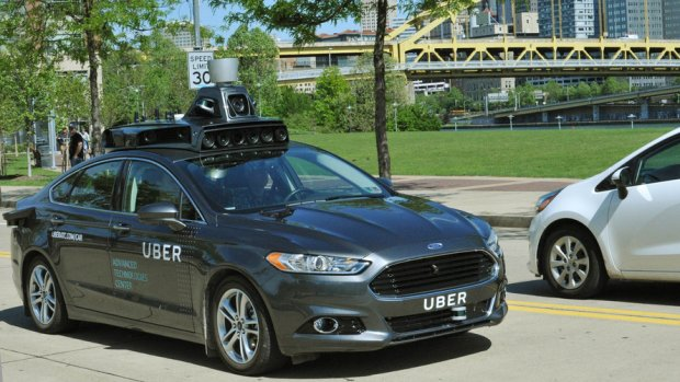 Ford Fusion Uber