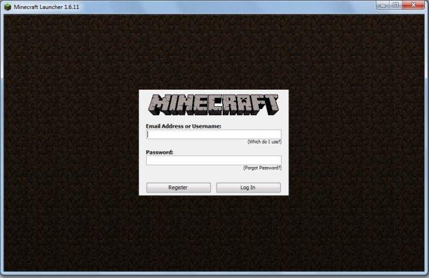 Logowanie do Minecraft