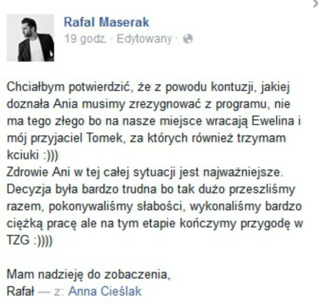 Post - Rafał Maserak