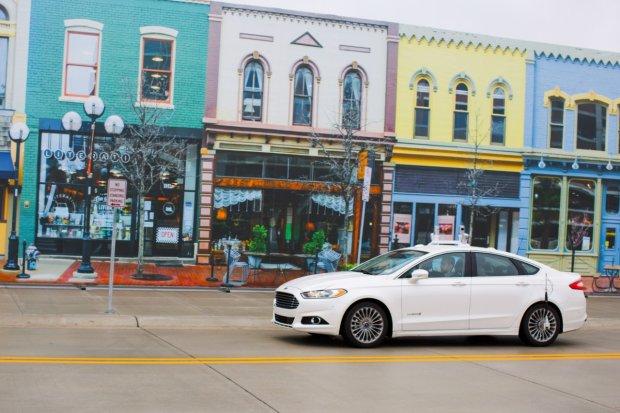Autonomiczny Ford Fusion Hybrid