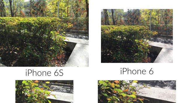 Porównanie zdjęć wykonanych iPhonem 6 i 6S