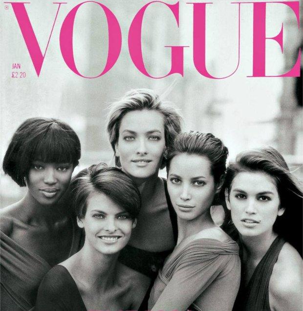 Vogue UK 1990