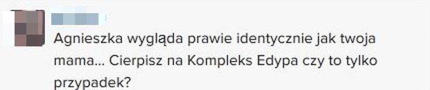 Komentarz na profilu Piotra Woźniaka-Staraka