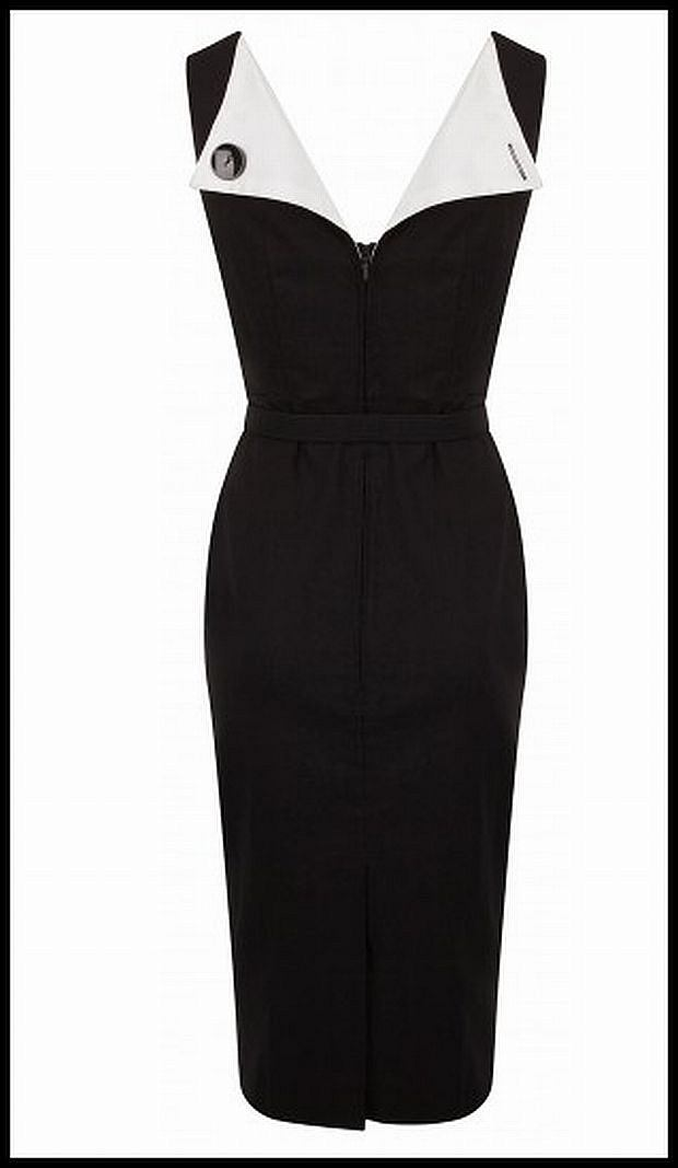 The Audrey Hepburn Dress by Bettie Page