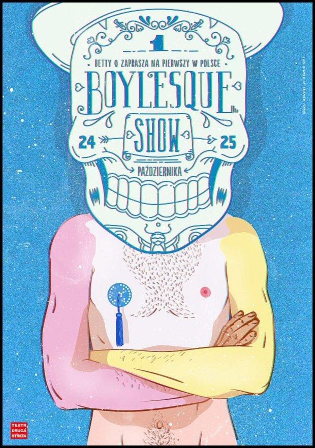 Materiały promocyjne Boylesque Show