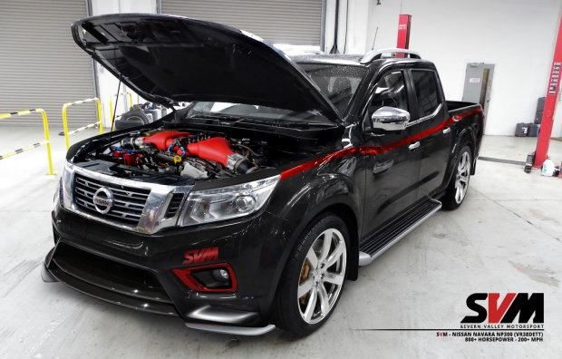 Nissan Navara z silnikiem GT-R