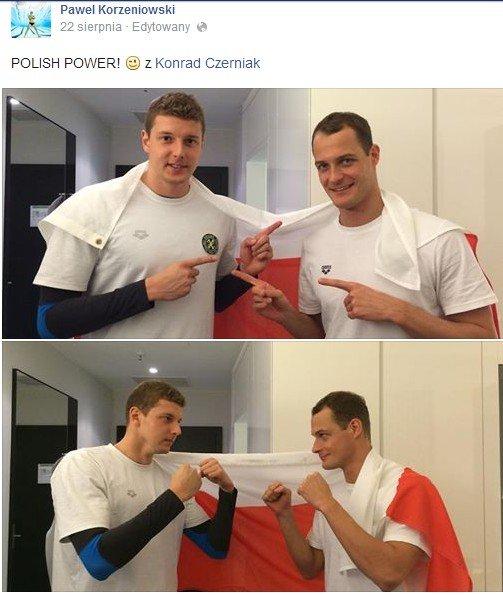 Paweł Korzeniowski i Konrad Czerniak