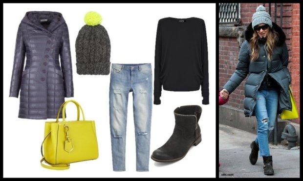 Stylizacja 2.: botki Nessi, płaszcz Visasavi, bluzka nietoperz Lilko, torebka Polyvore, spodnie H&M, czapka Lyst.com