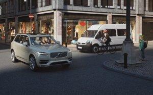 Volvo zauważy rowerzystów, ale wybranych