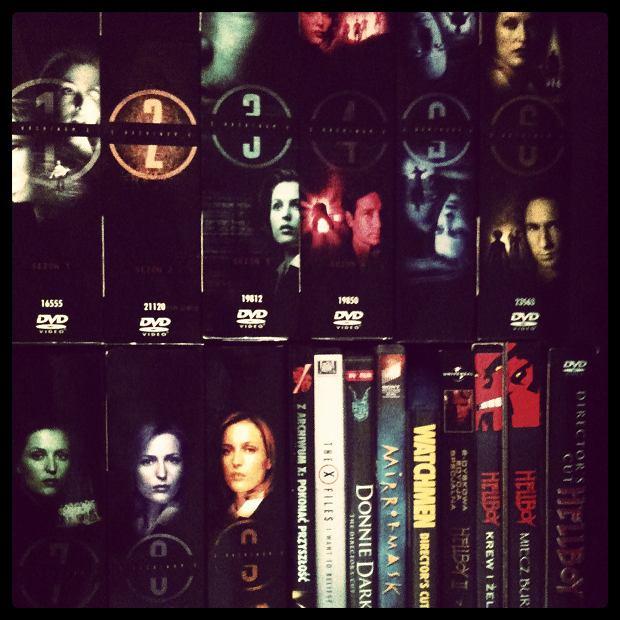 Starość, radość! Kolekcja X-Files wreszcie jest mooooja